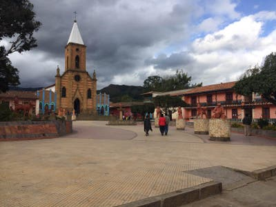 Plaza Mayor de Ráquira