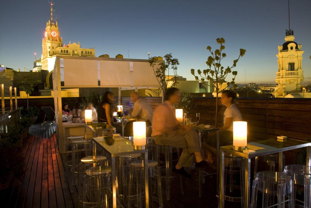 10 hoteles de madrid con vistas incre bles for Viajes a madrid con hotel