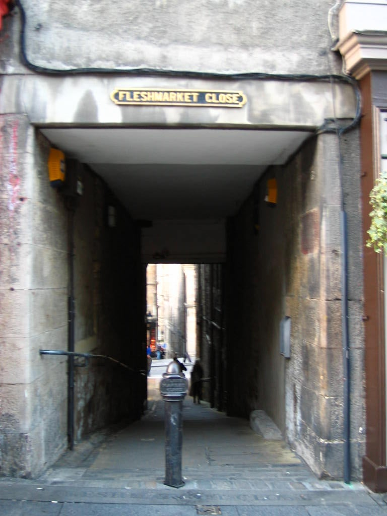 Calle en Royal Mile