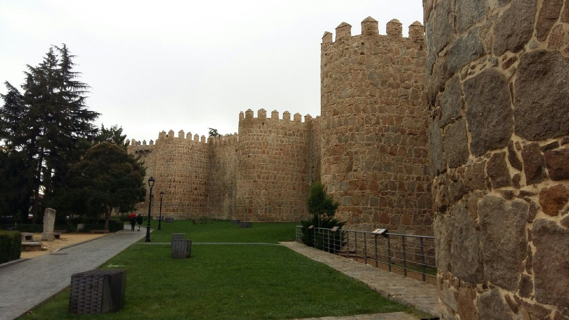Pared en Murallas de Ávila