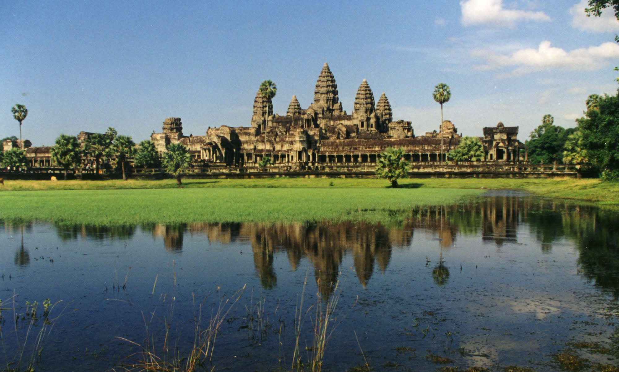 Club de golf en Angkor Wat
