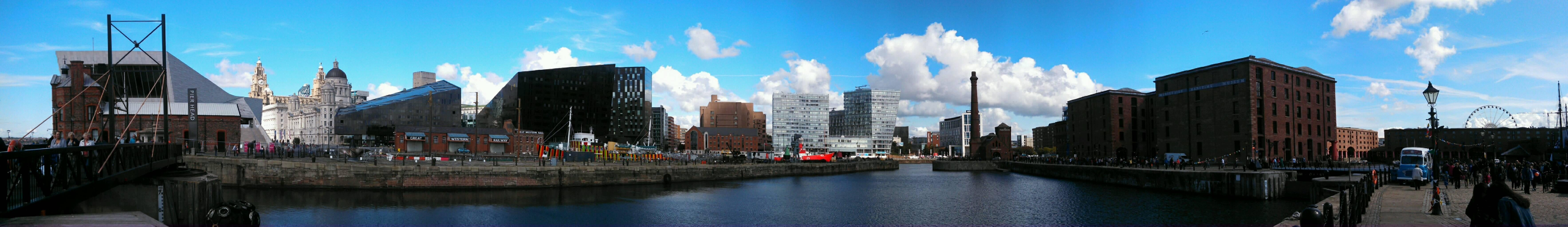 Panorámica en Royal Albert Dock