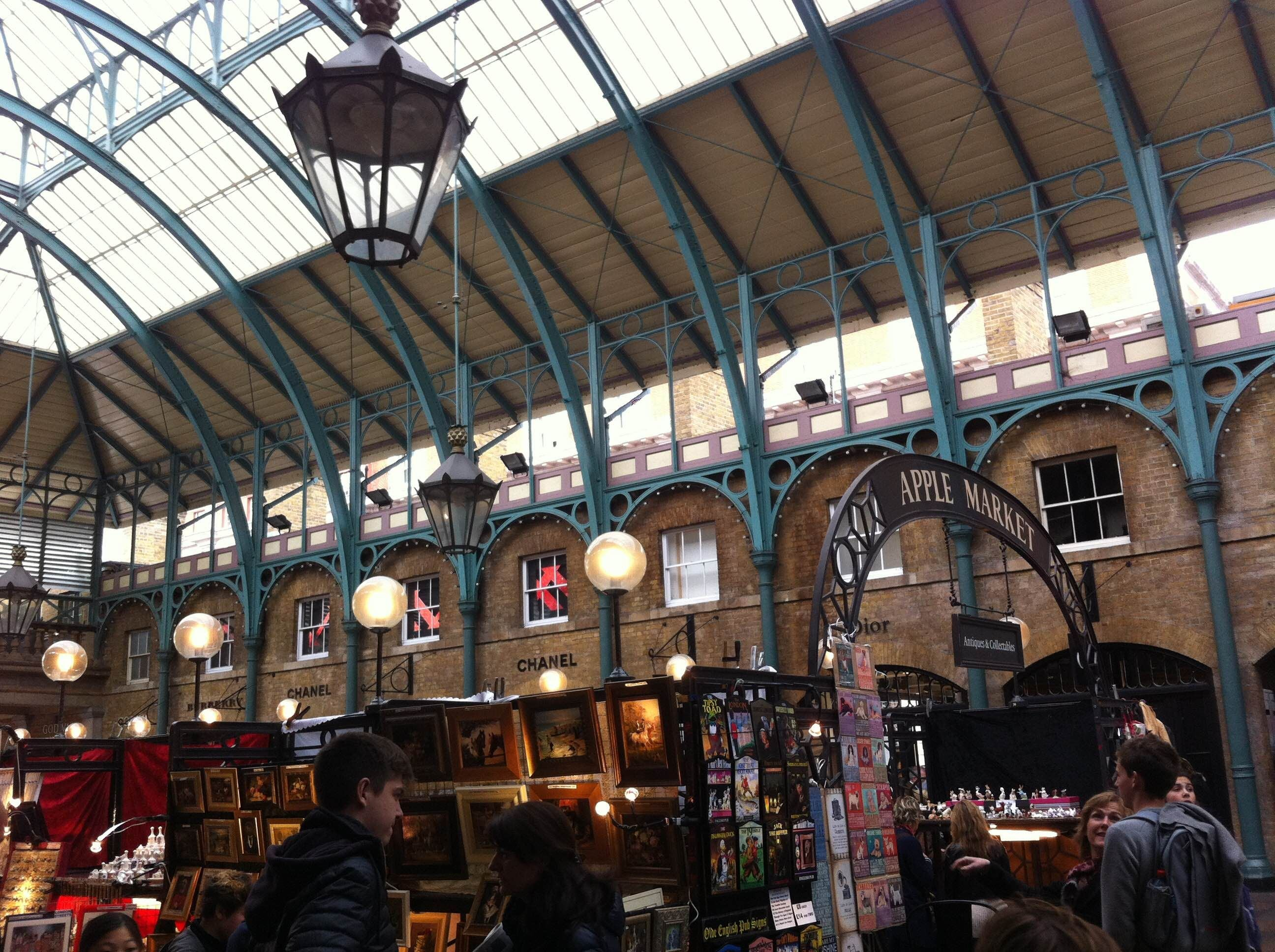 Mercado en Covent Garden