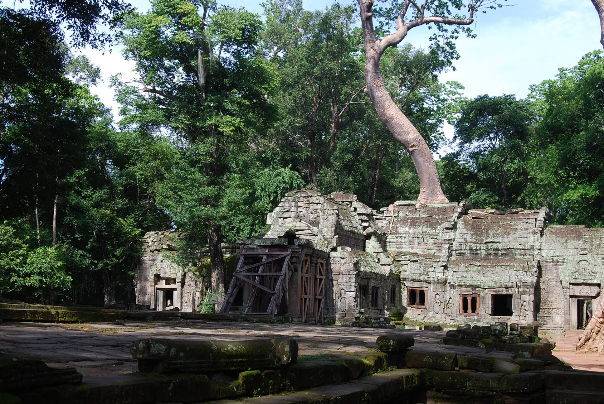 Zoo en Ta Prohm