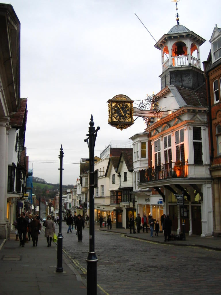 Ciudad en High Street de Guildford