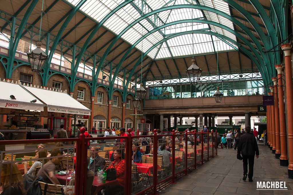 Estación de tren en Covent Garden