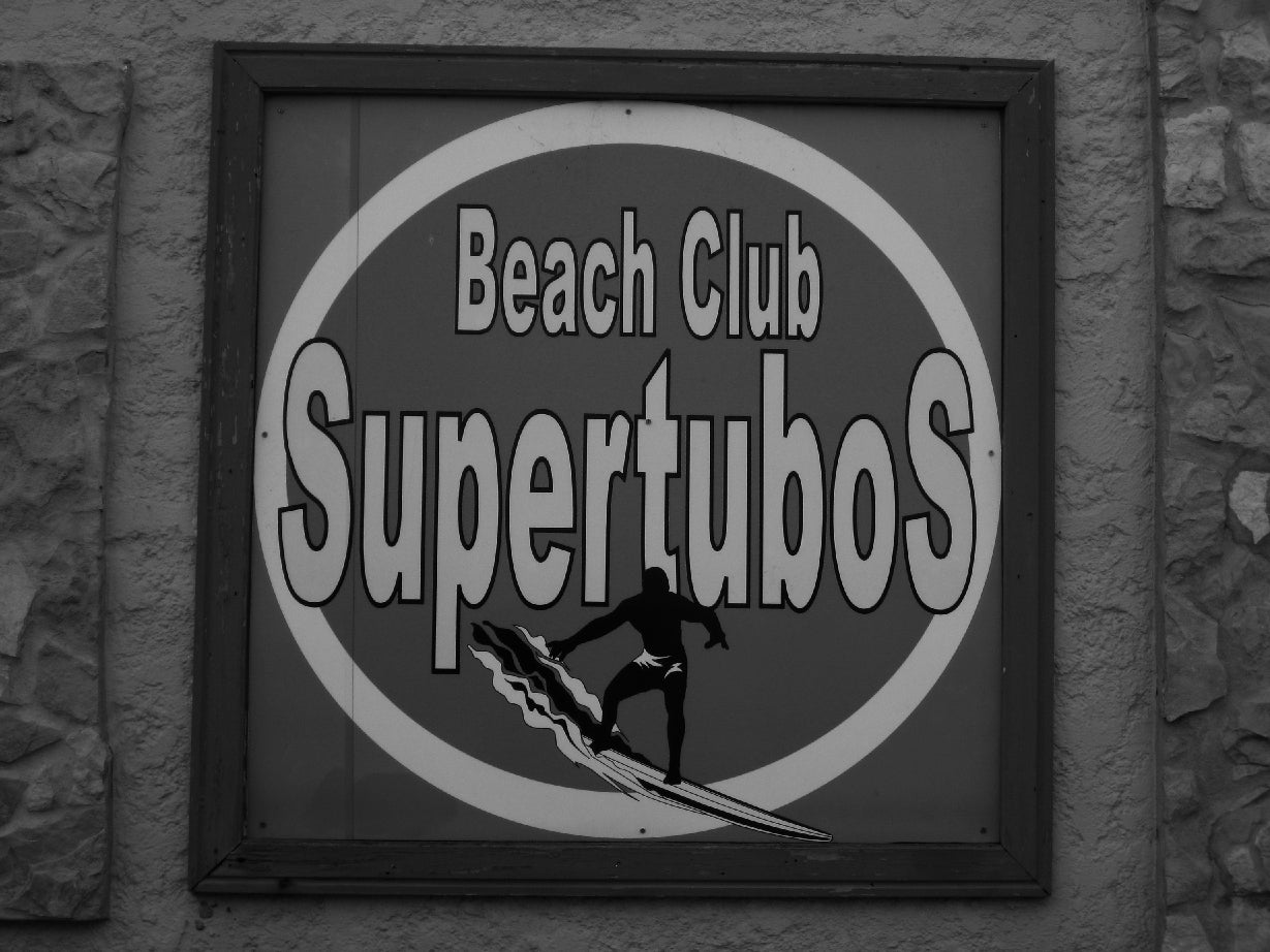 Segnaletica SuperTubos Beach