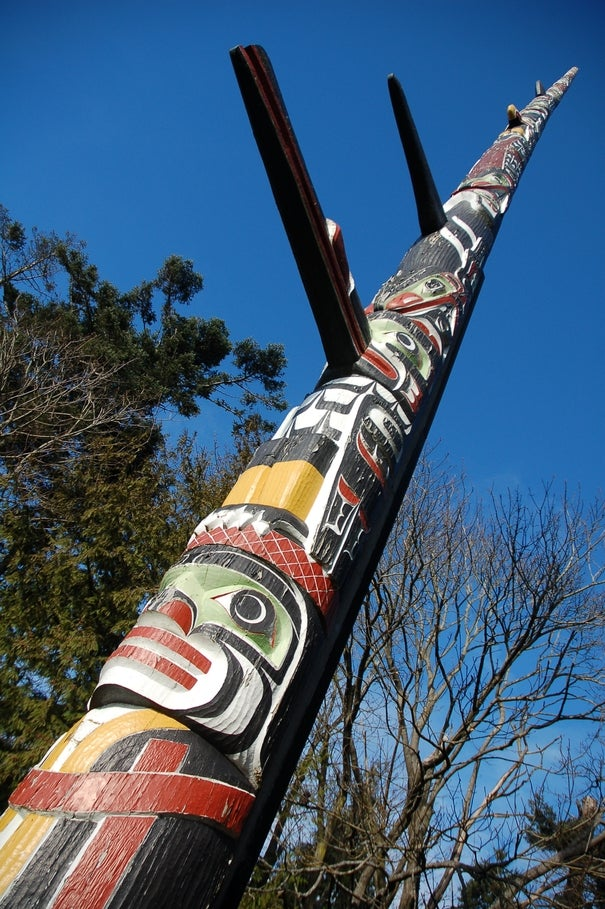 The highest totem in the world