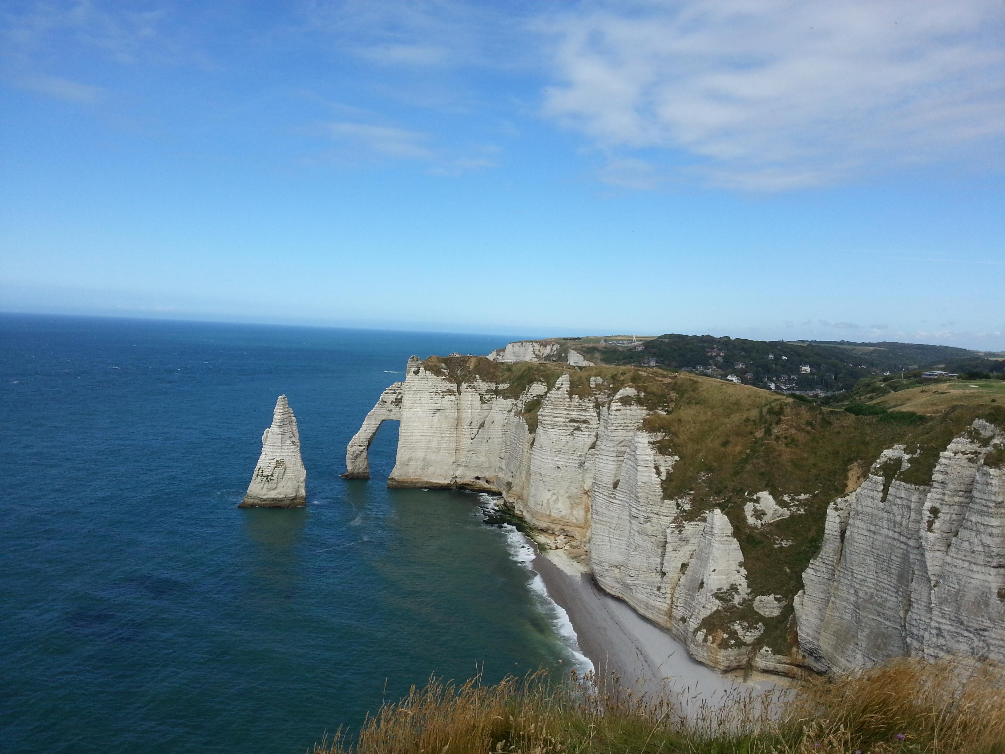 Coast of Etretat