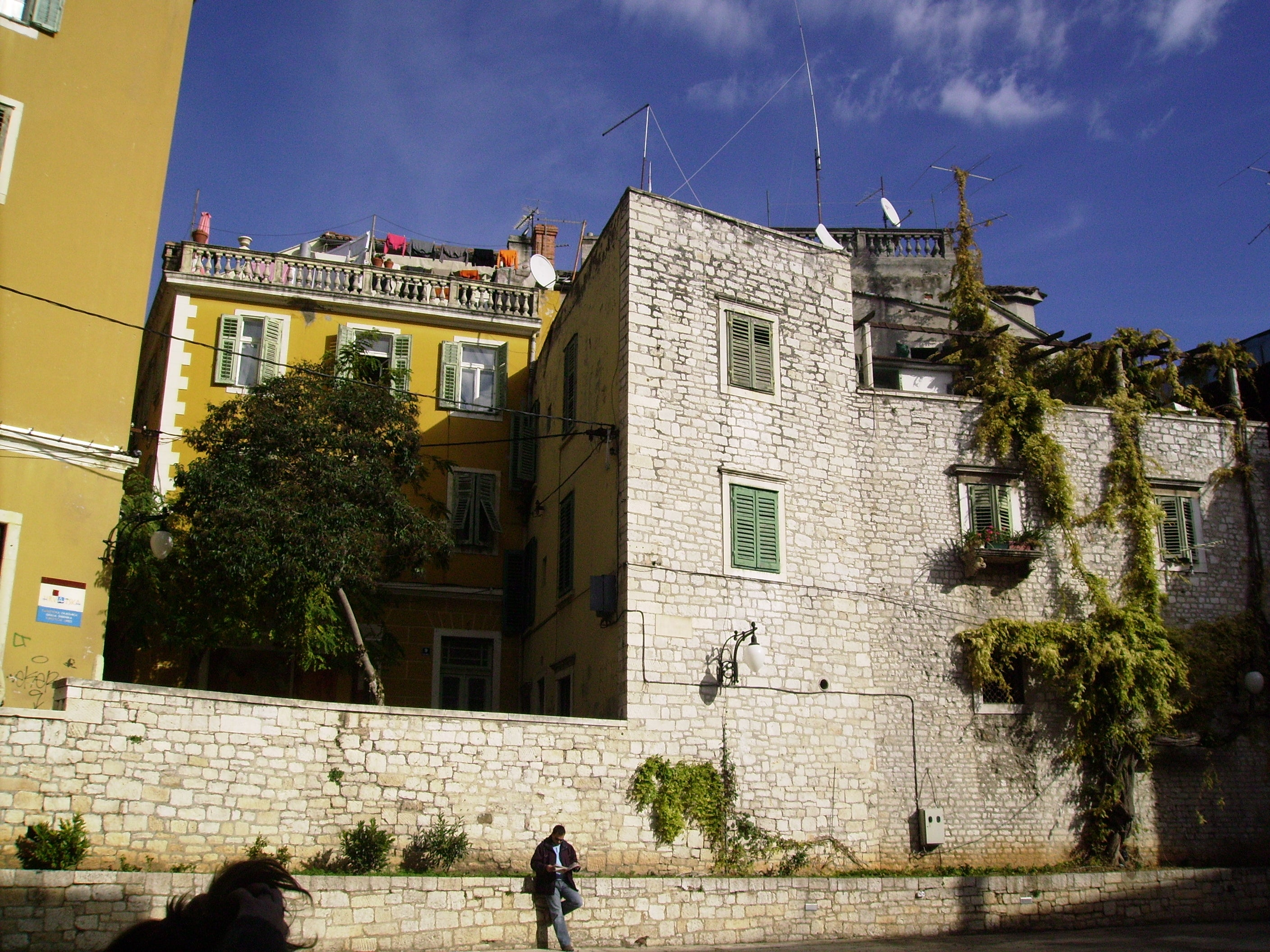 Pared en Sibenik