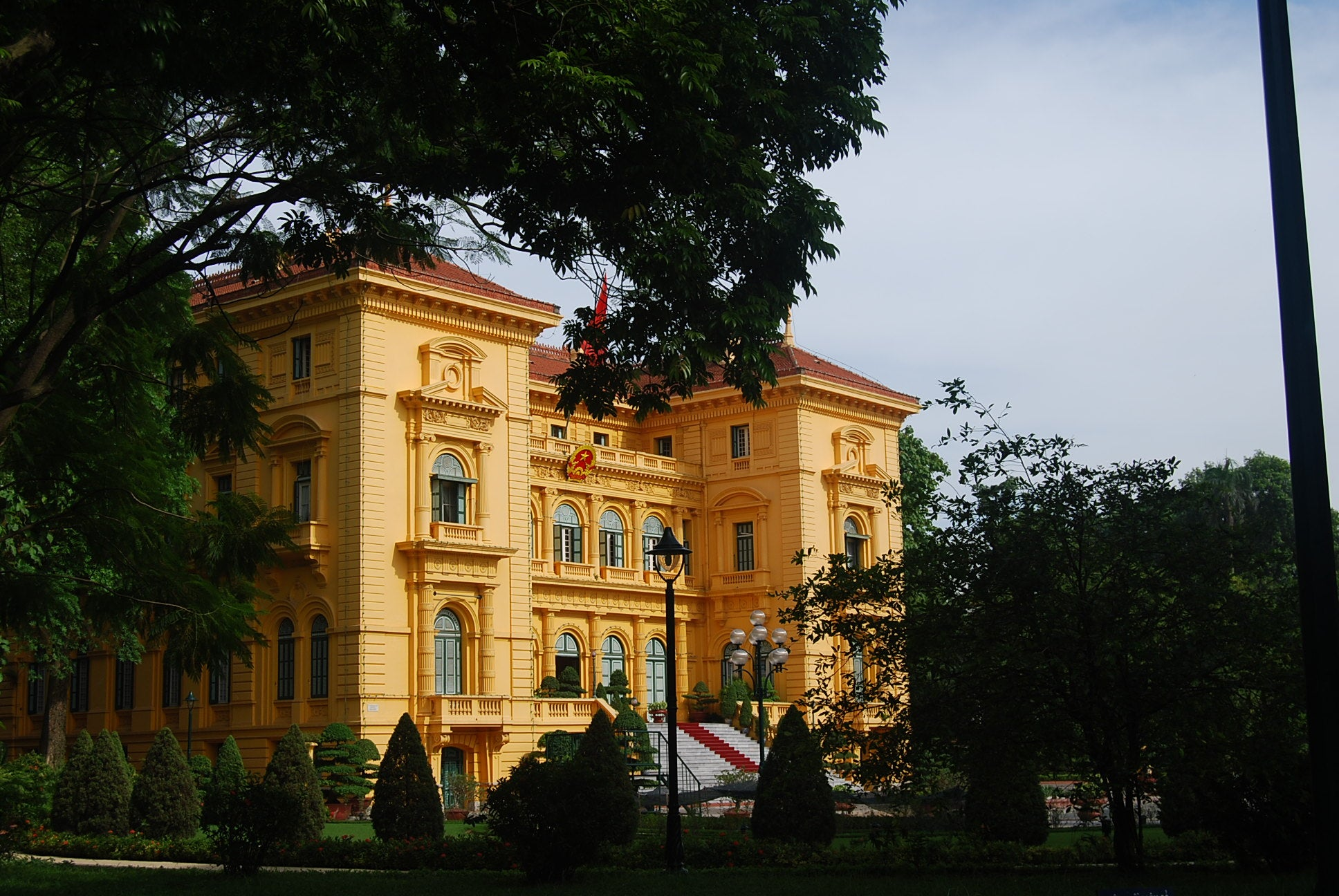 Arquitectura en Presidential Palace