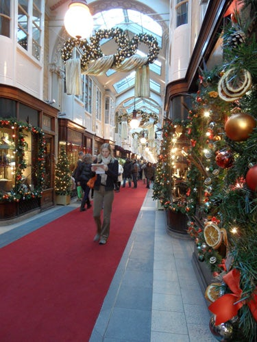 Suelo en Burlington Arcade