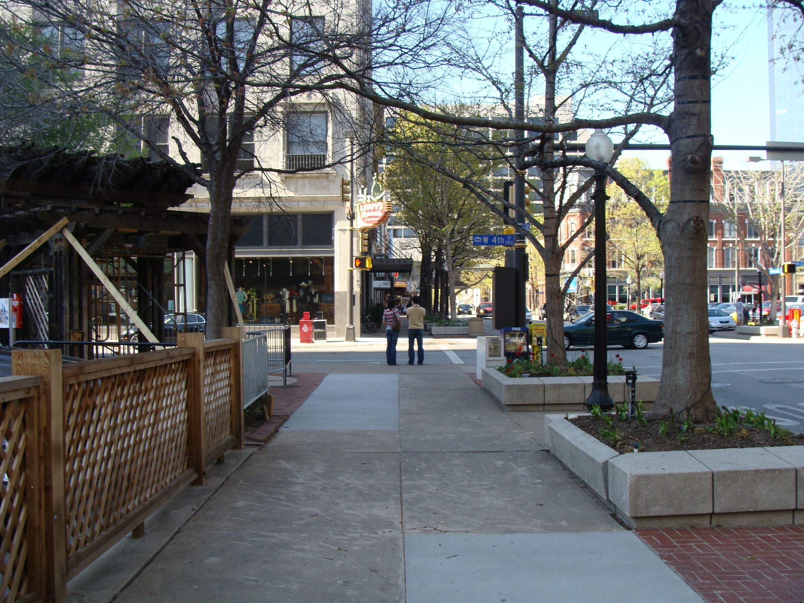 Paseo en Houston Street