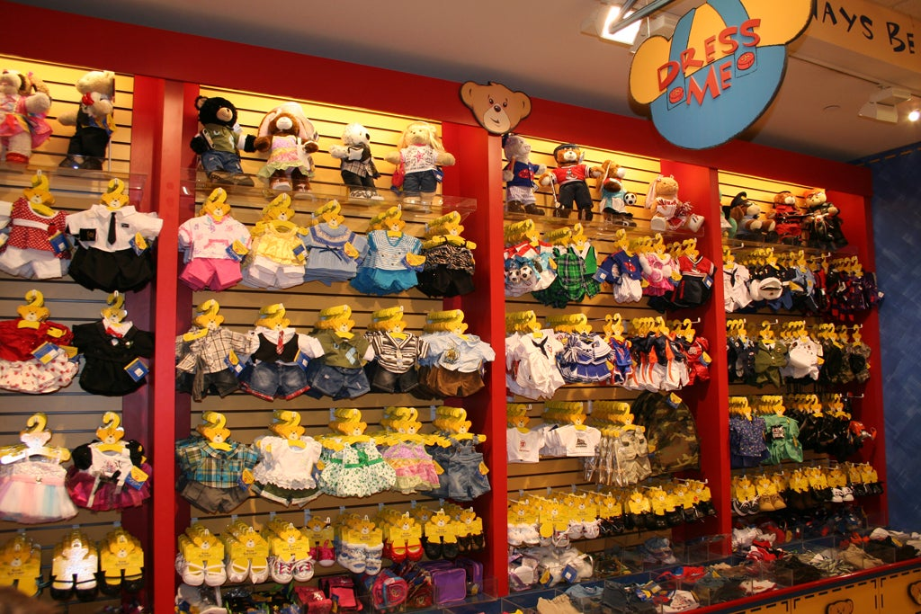 Juguete en Build a Bear Workshop
