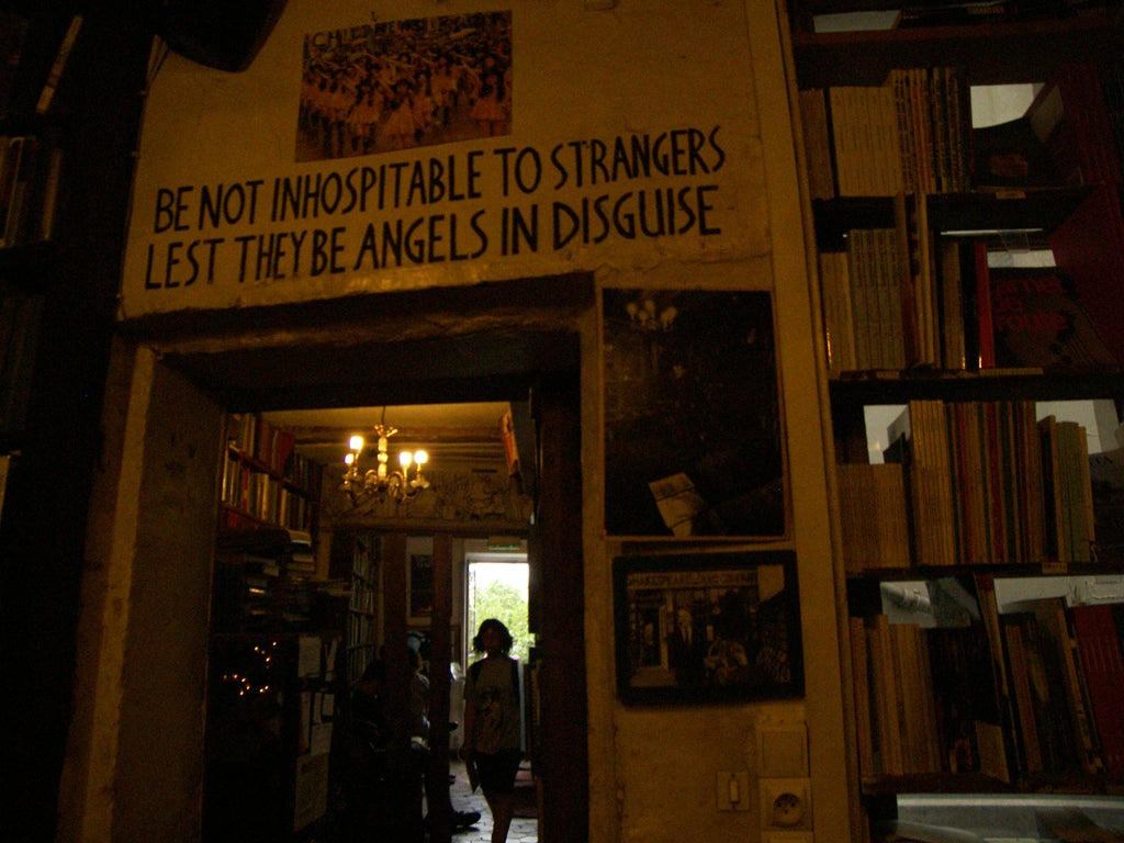 Turismo en Shakespeare & Co.