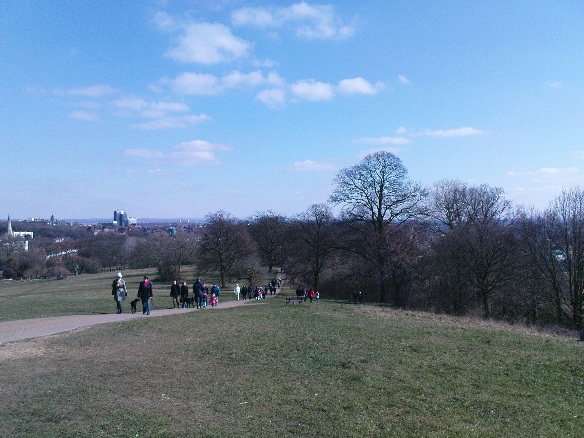 Parque en Parque de Hampstead Heath