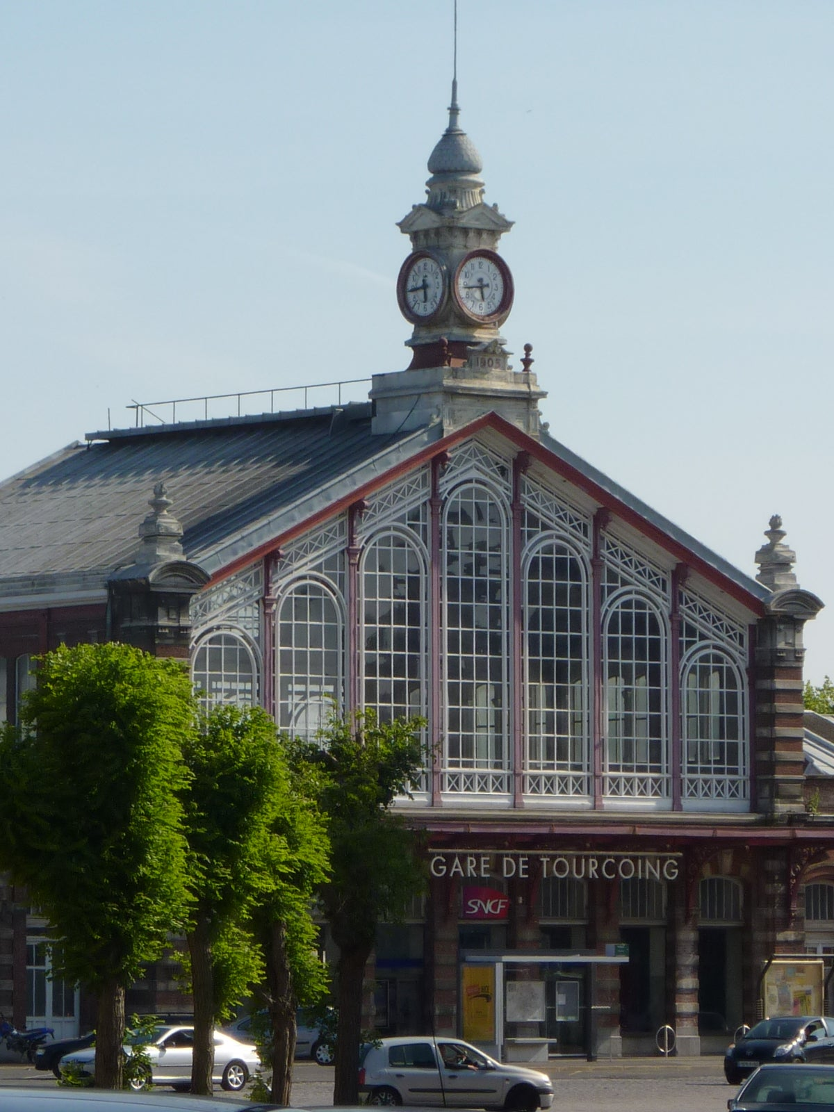Tourcoing Train Station