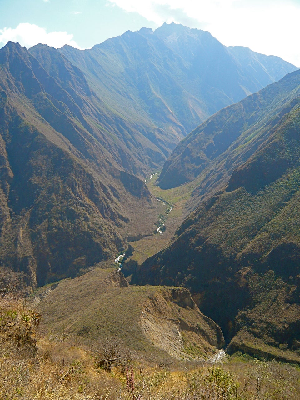 Choquequirao to Yanama Trek