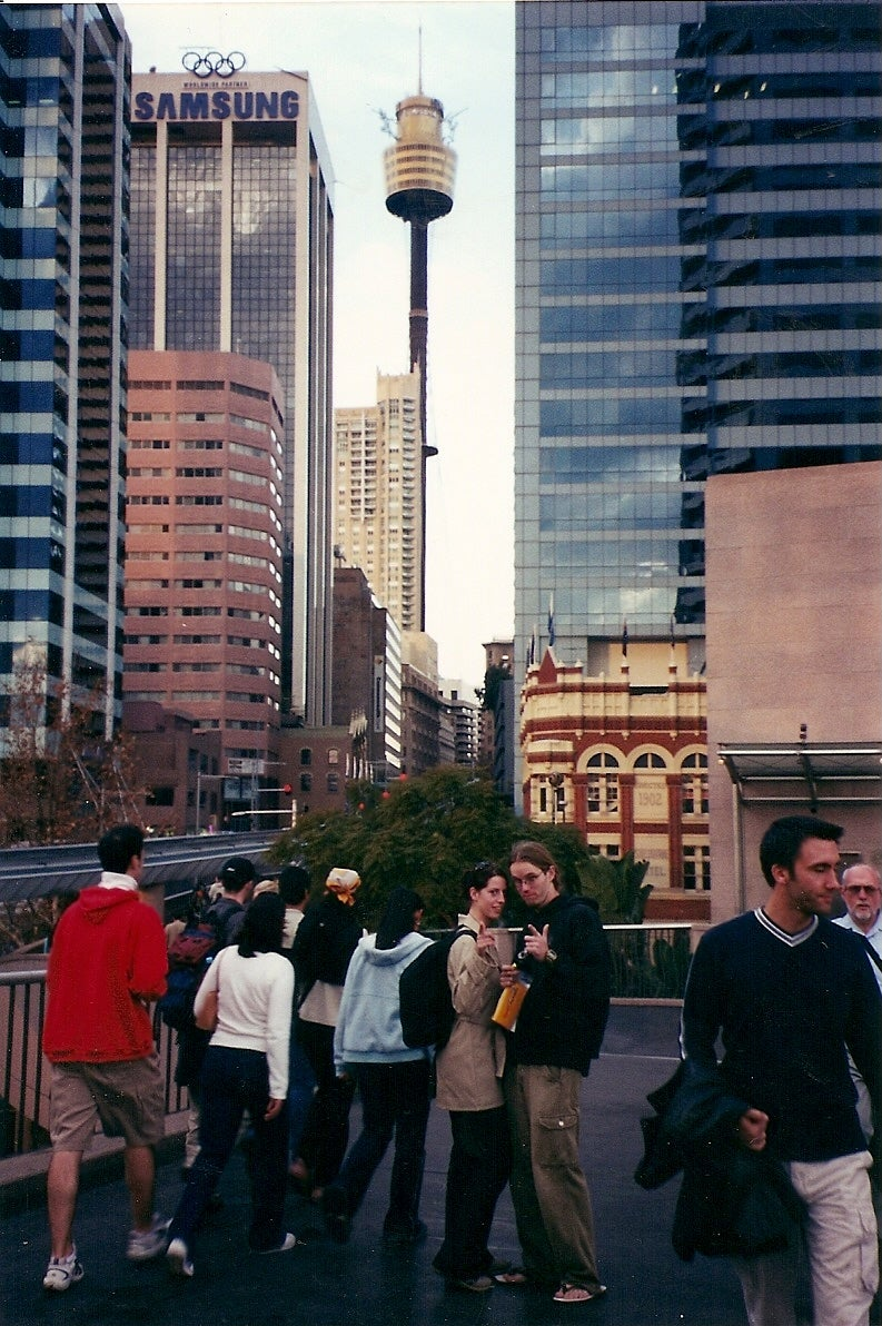 Reflejo en Sydney Tower