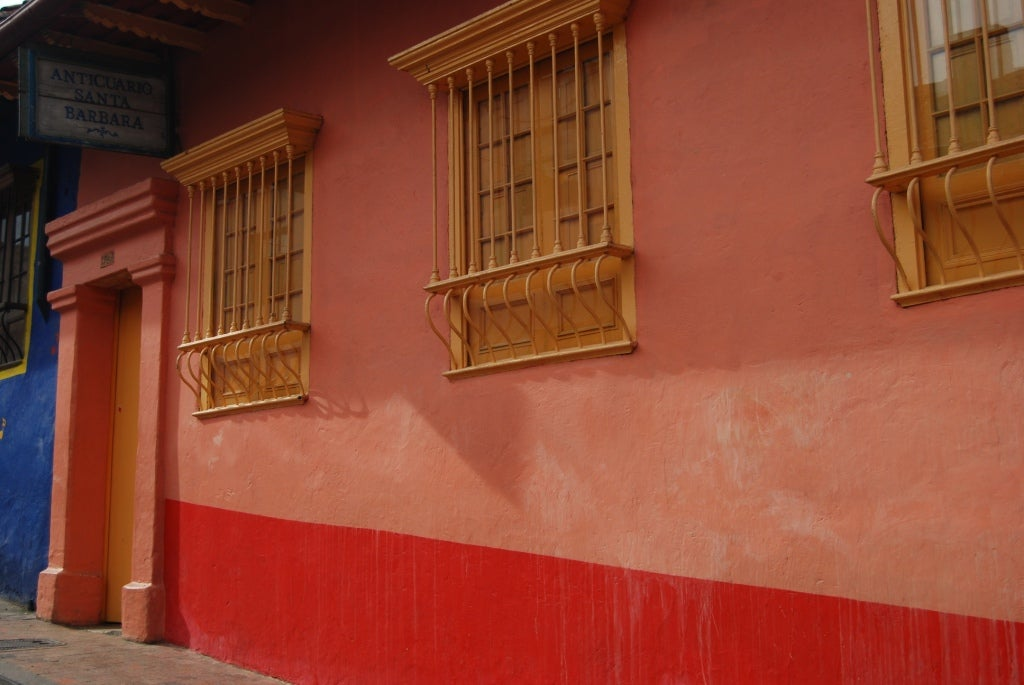 Pared en Barrio la Candelaria