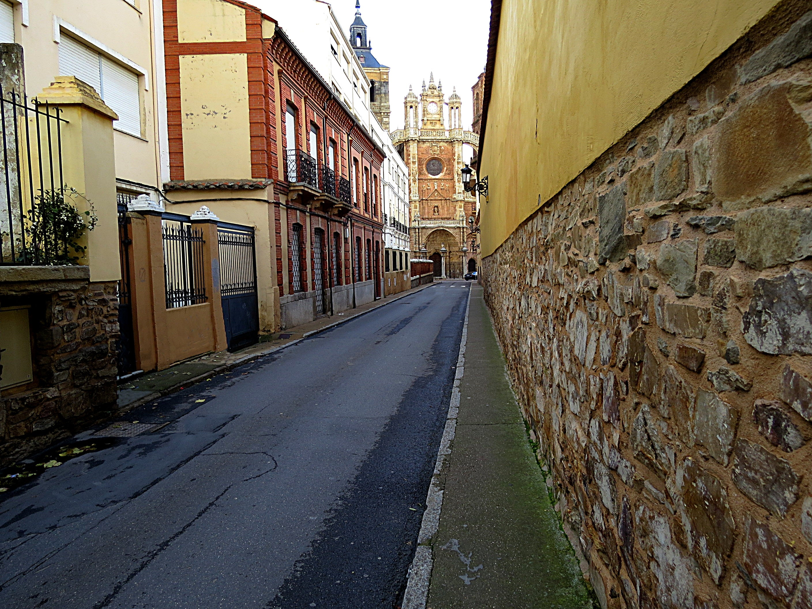 Pared en Astorga