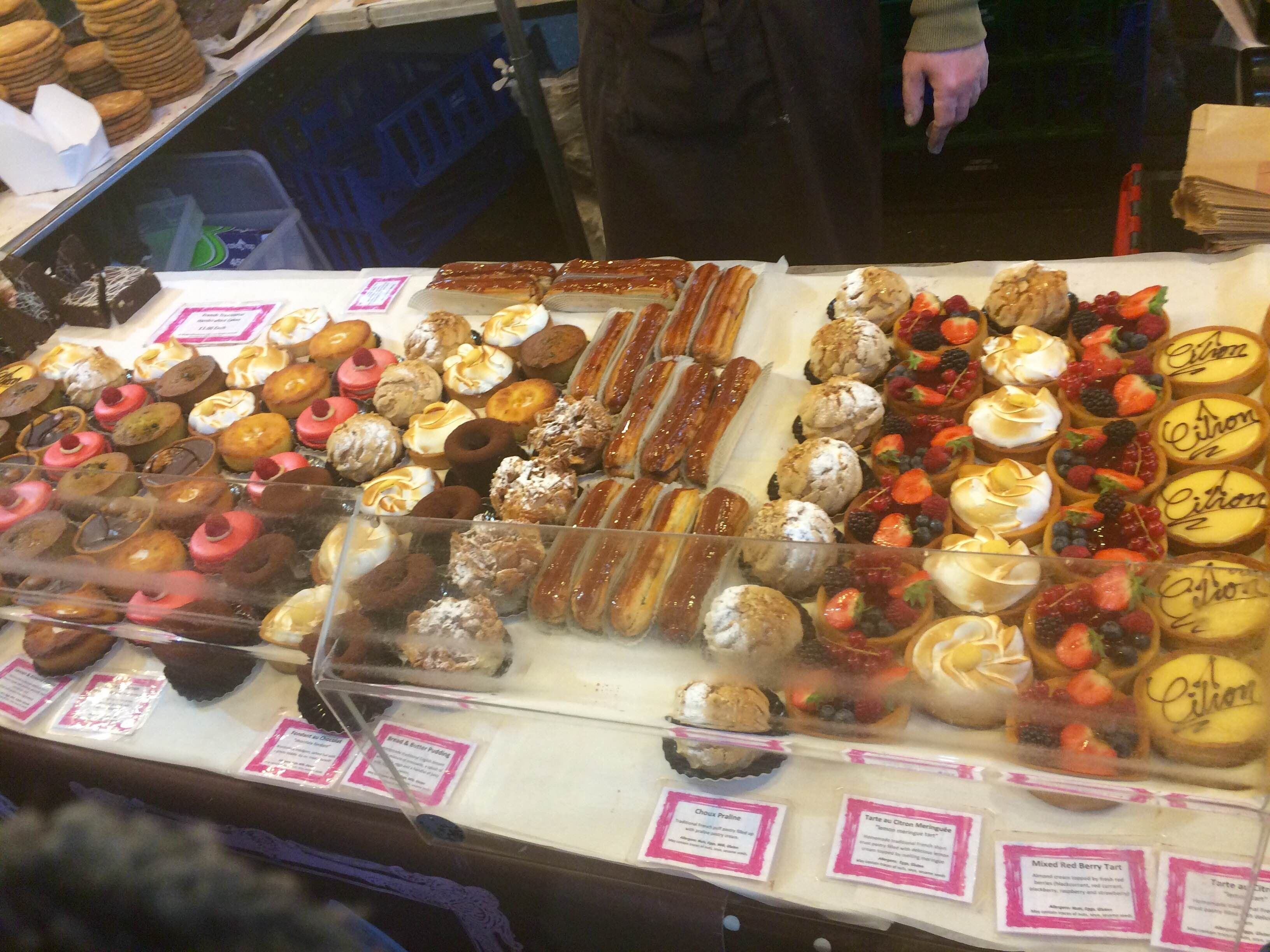 Kue en Borough Market