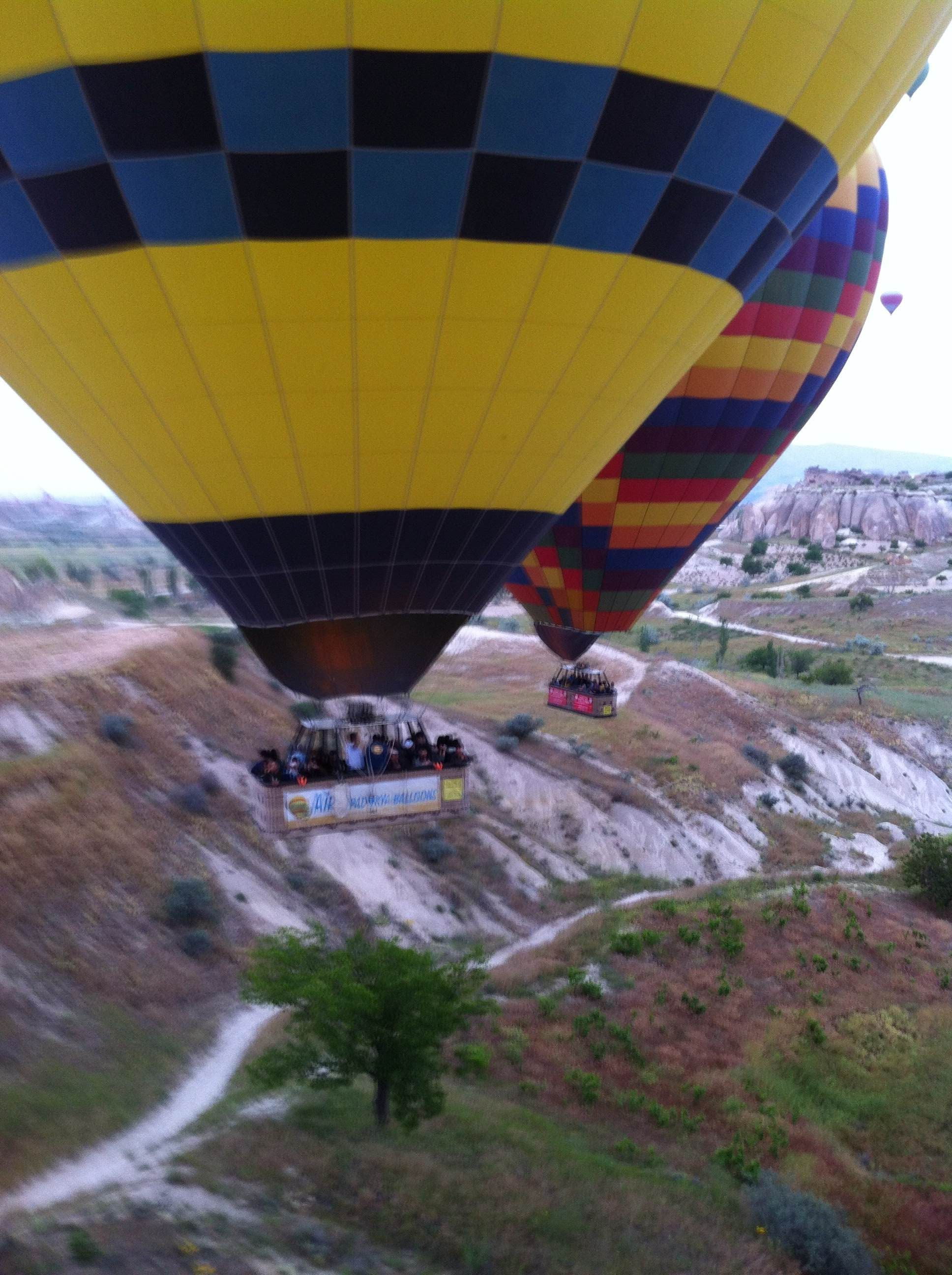 Vuelo en Mirador de Göreme - Sunset Point