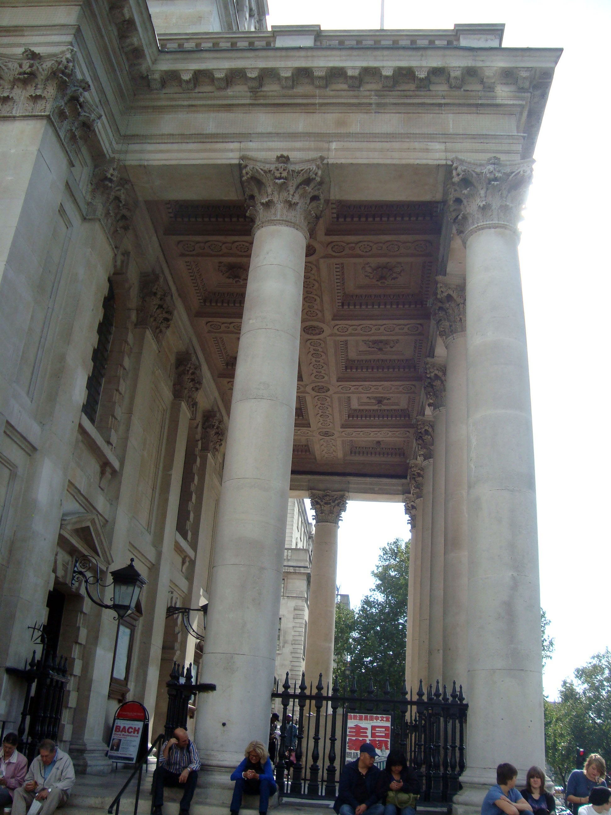 Templo romano en St Martin-in-the-Fields