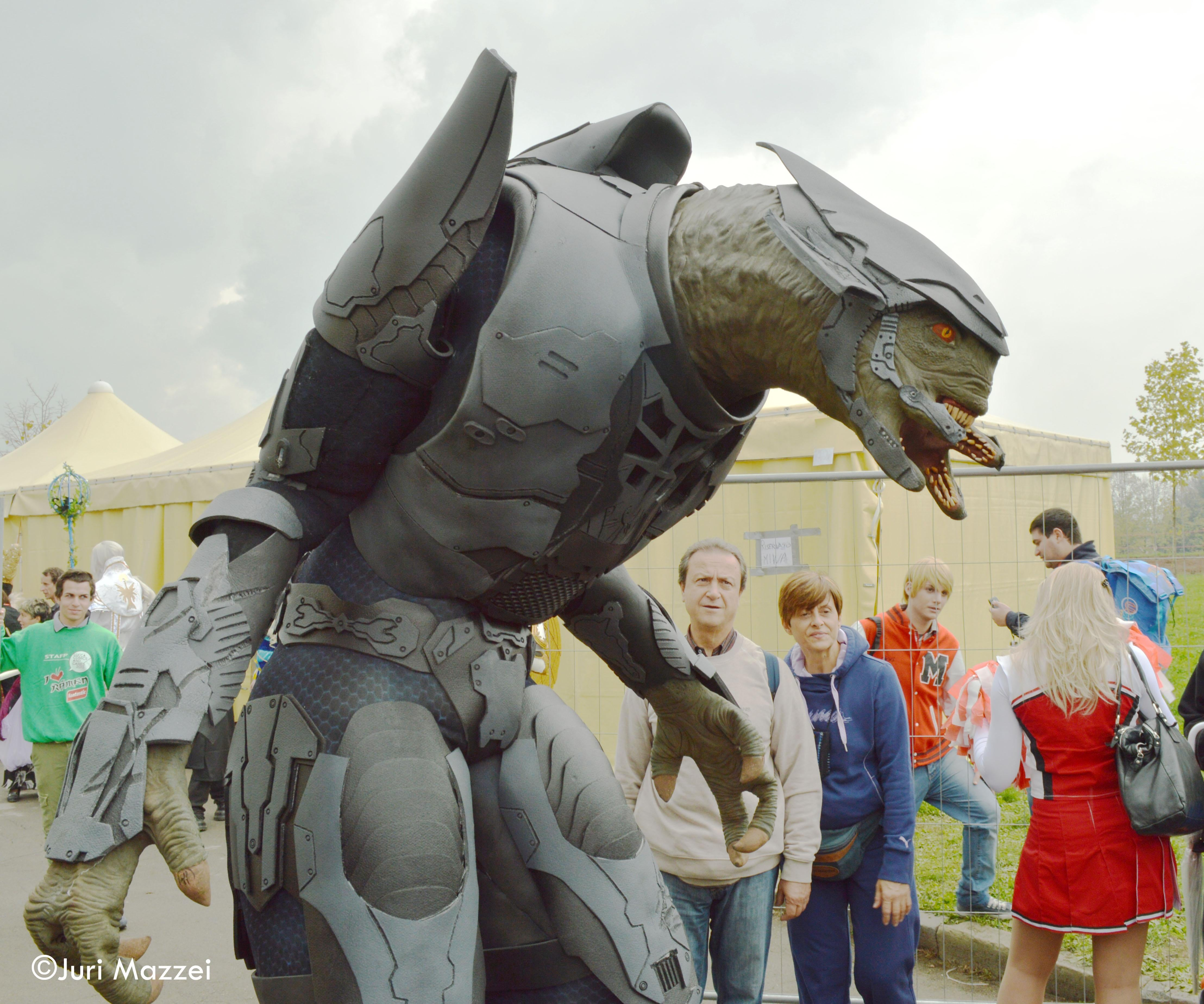 Escultura en Lucca Comics And Games
