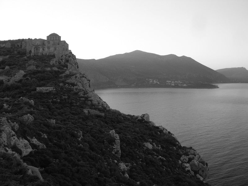 Playa en Monemvasia