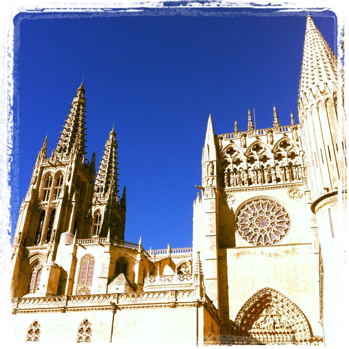 Edad Media en Catedral de Burgos