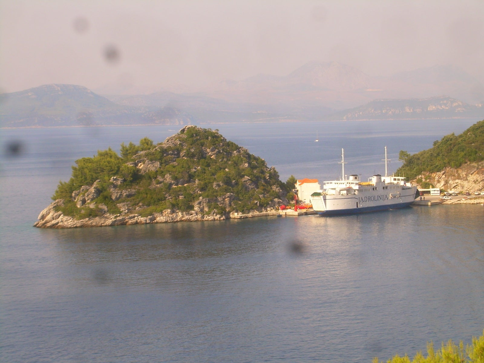 Ferry to Mljet
