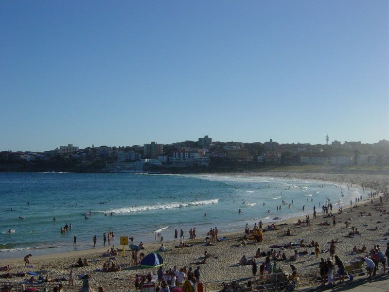 Costa en Playa de Bondi