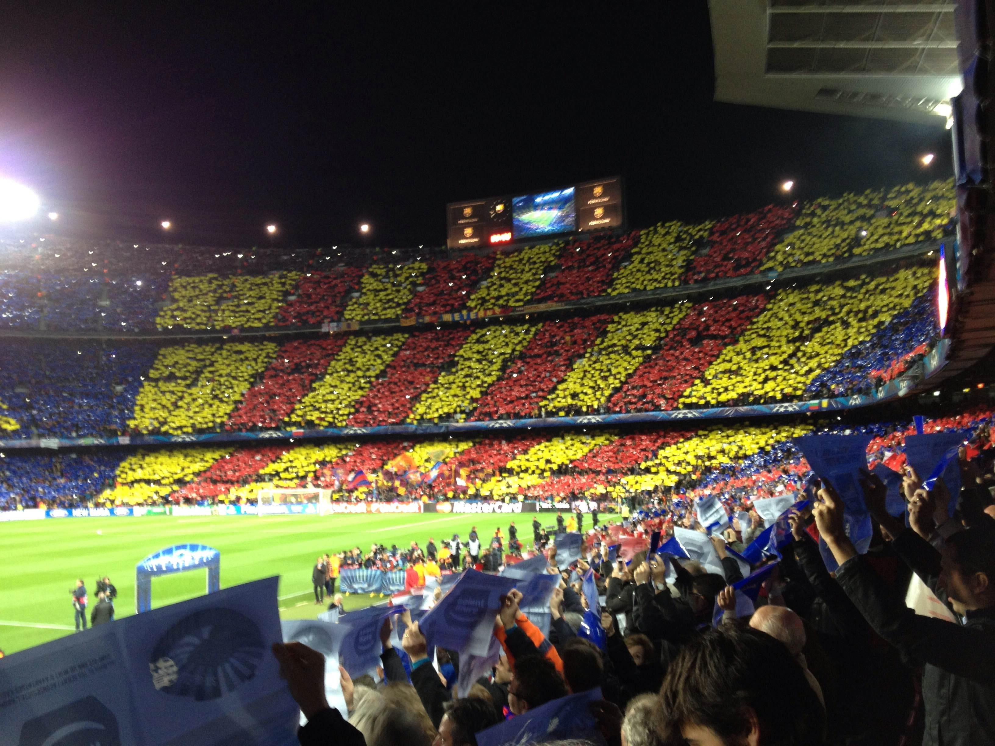 Carreras en Camp Nou