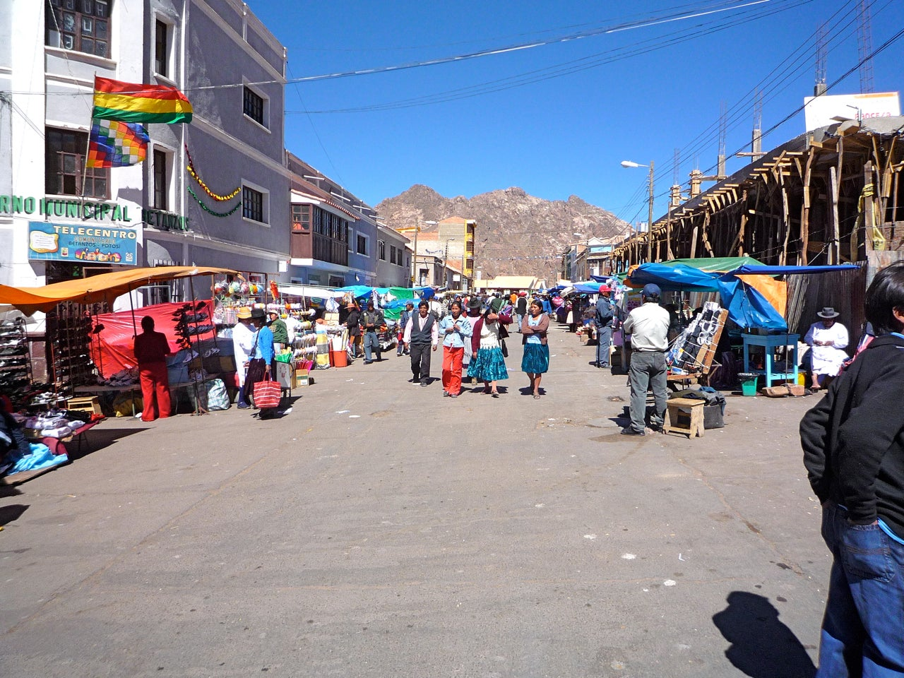From Potosi to Sucre