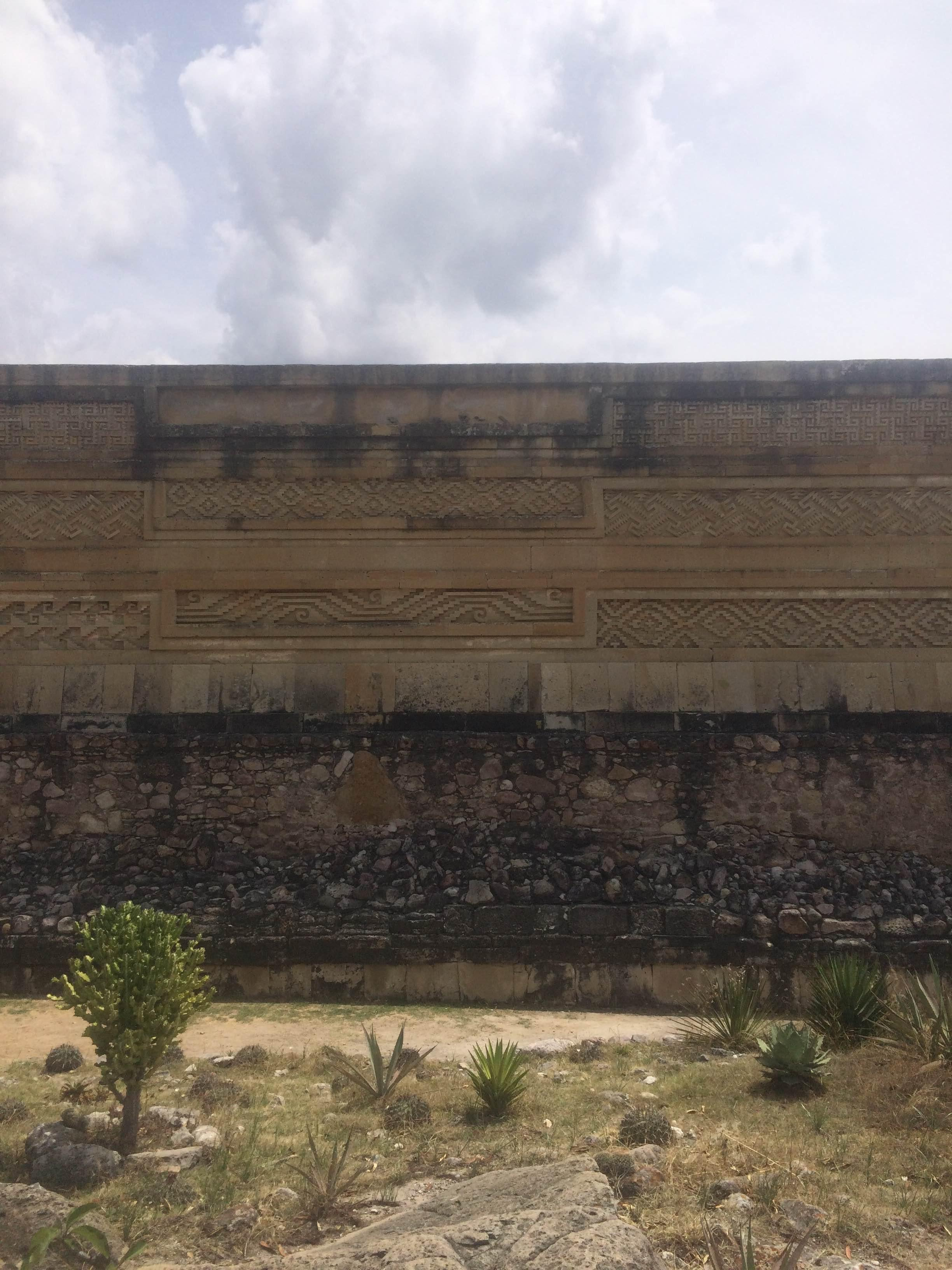 Pared en Palacio Mitla
