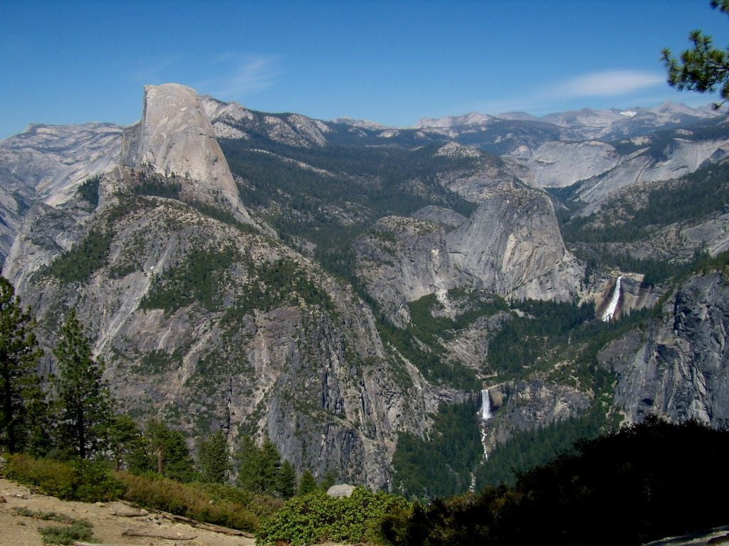 Paisaje en Glacier Point
