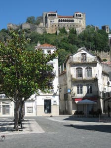 Rodrigues Lobo Square and the Castle