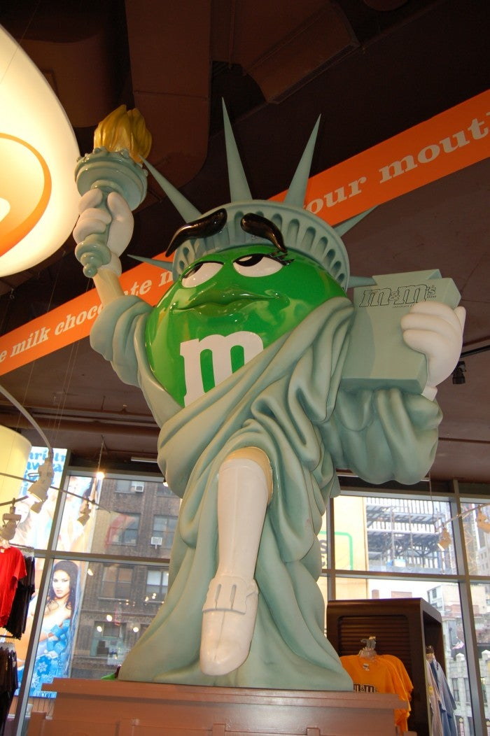 Monumento en M&M'S World
