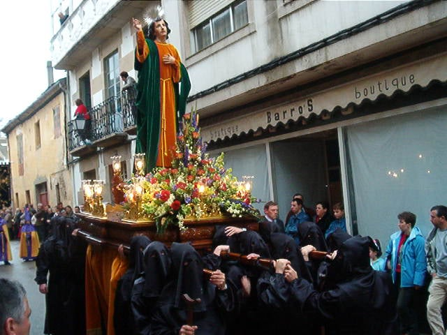 Holy week in Viveiro