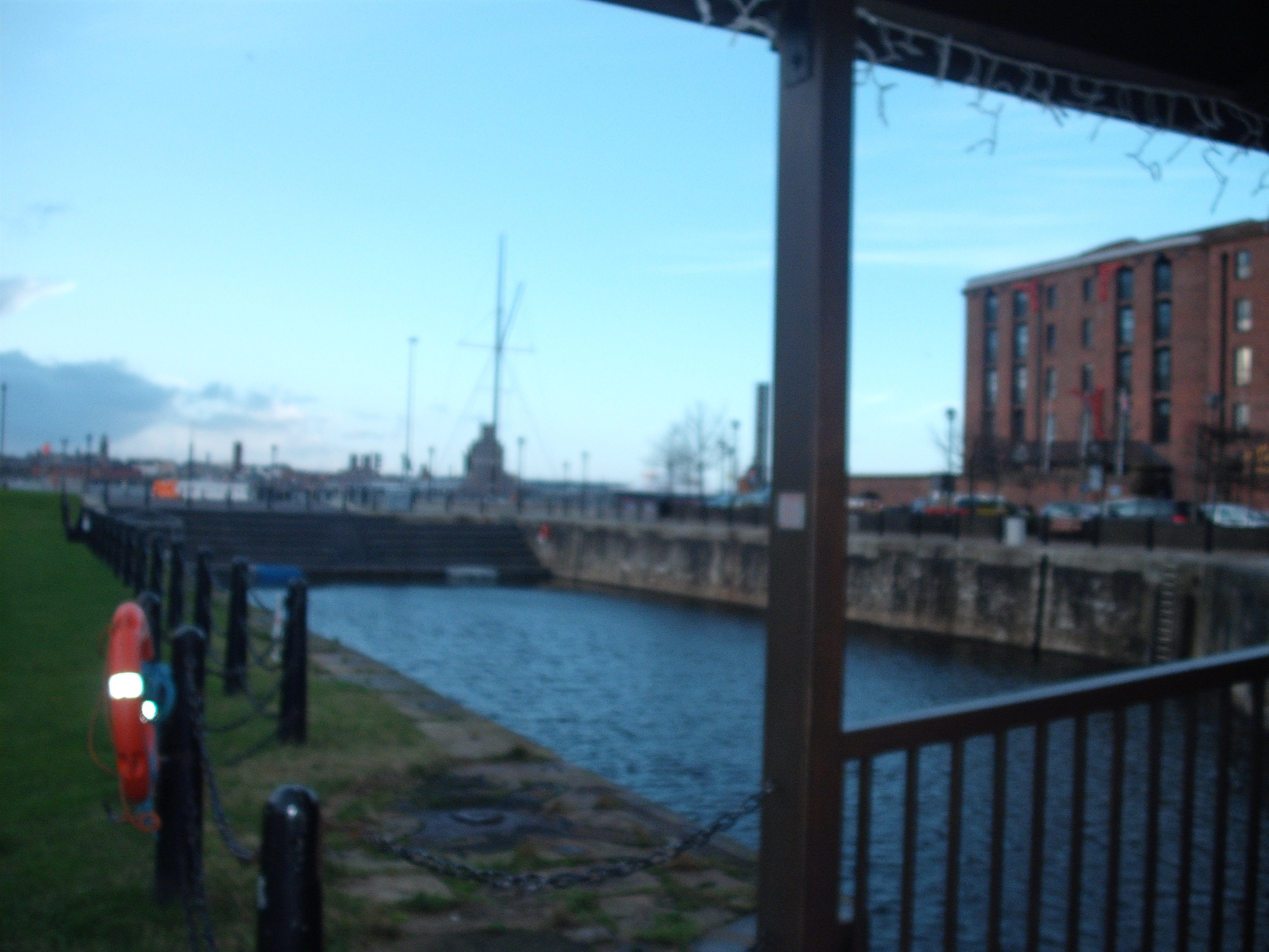 Muelle en Royal Albert Dock
