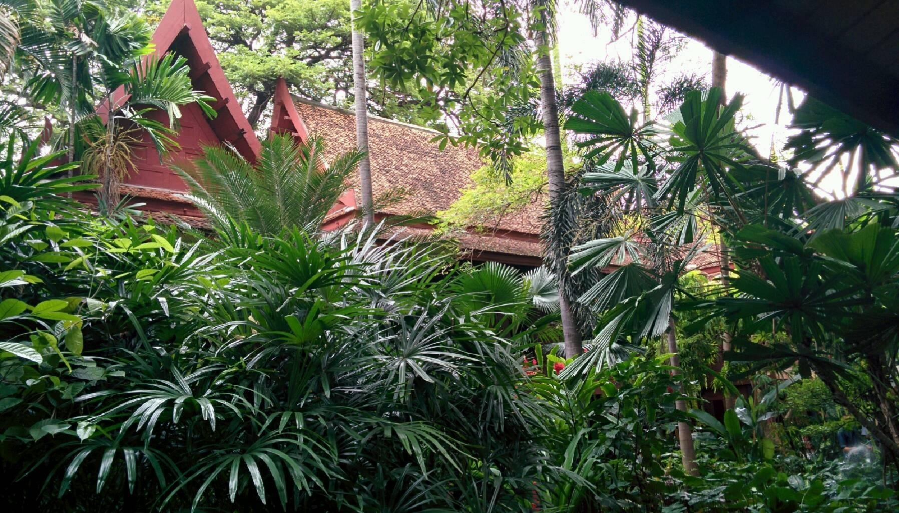 Planta en Casa de Jim Thompson