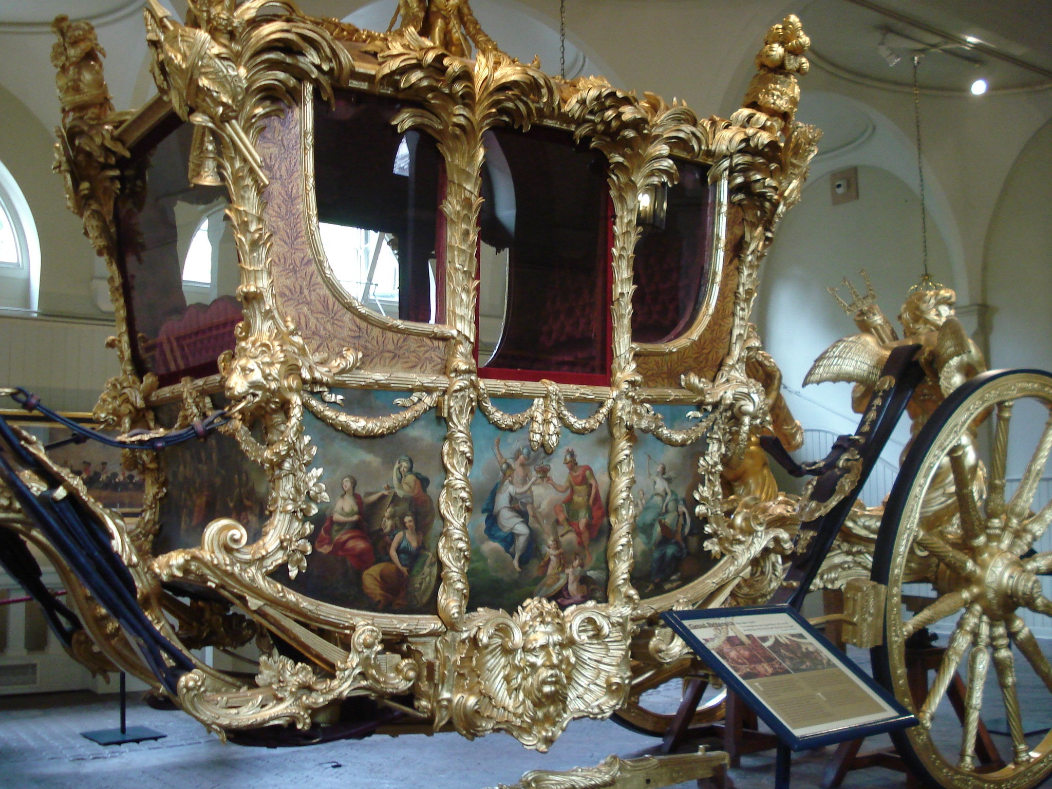 Historia antigua en Royal Mews