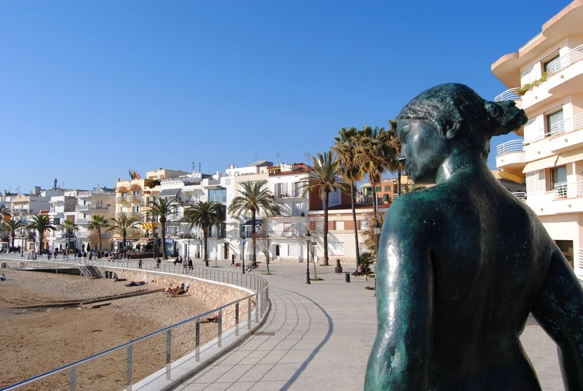Sculpture in Sitges