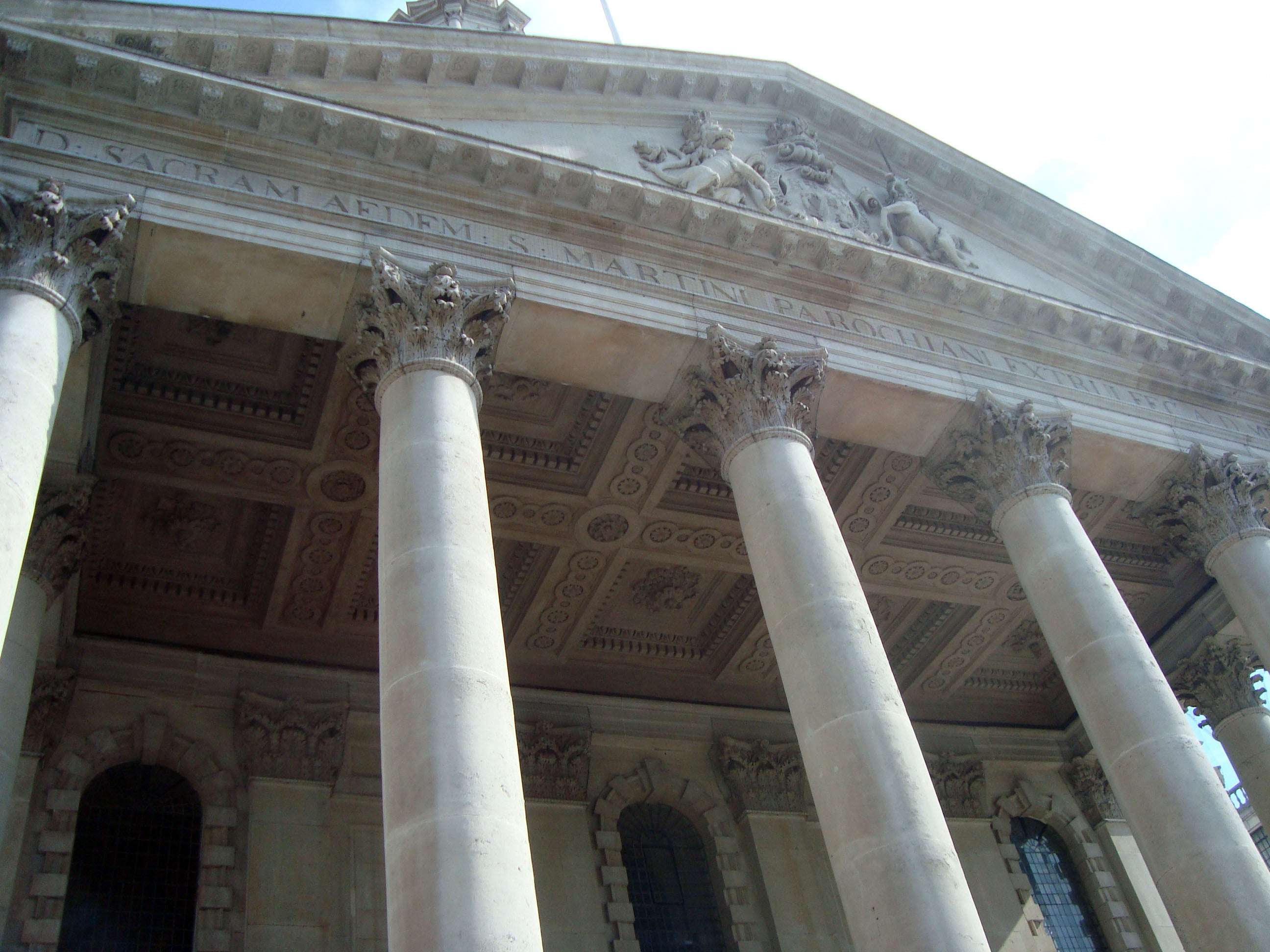 Columna en St Martin-in-the-Fields