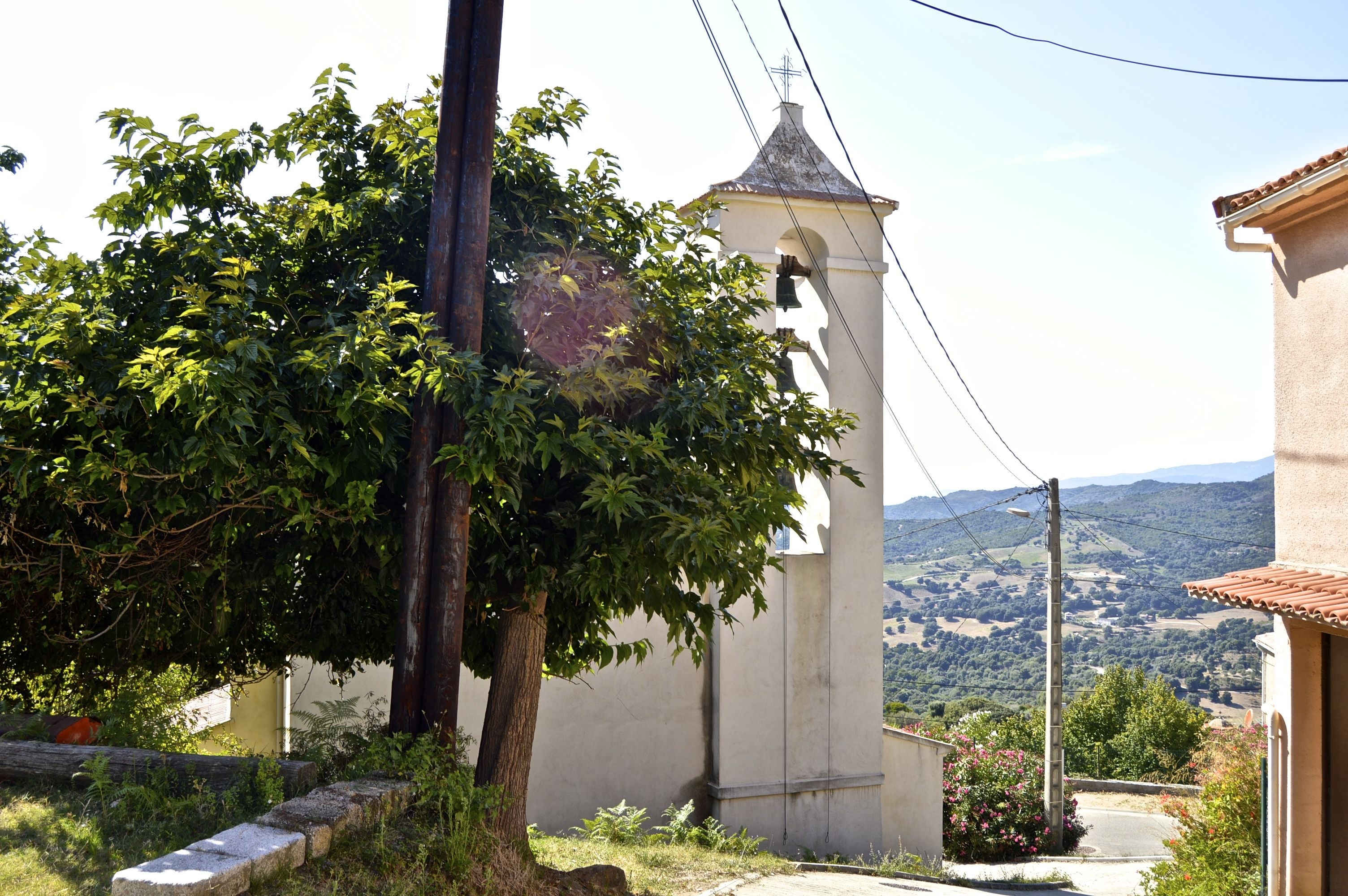 Residential Area in Iglesia de Sant`Andréa d´Orcino
