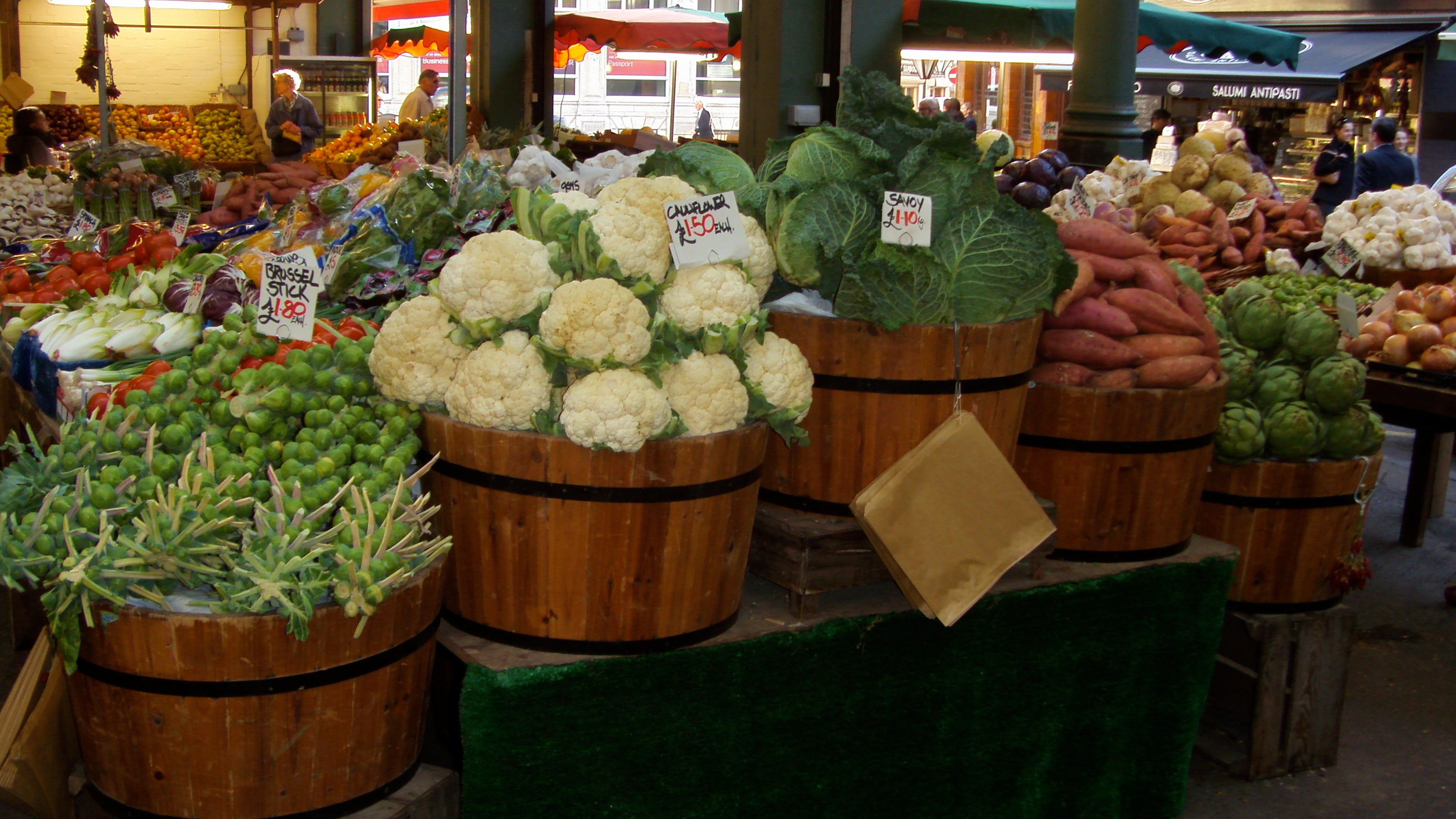 Floristería en Borough Market