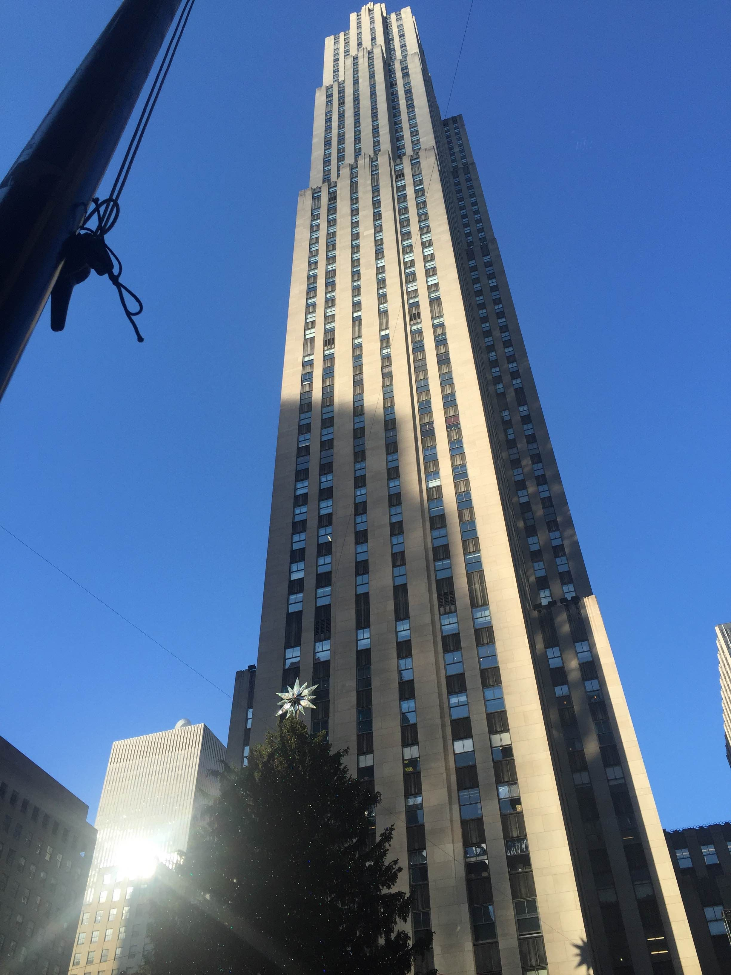 Edificio en Rockefeller Center