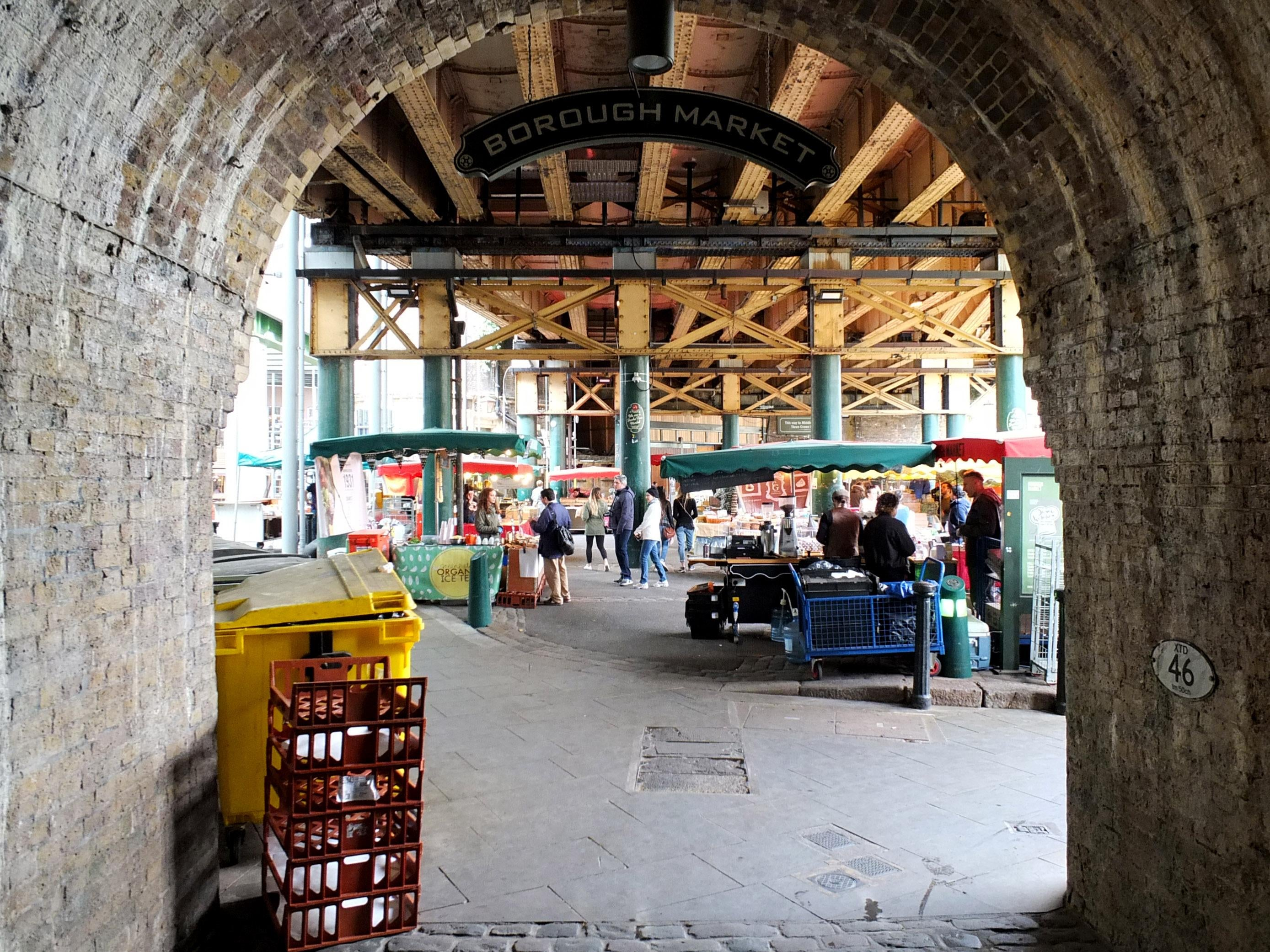 Arco en Borough Market