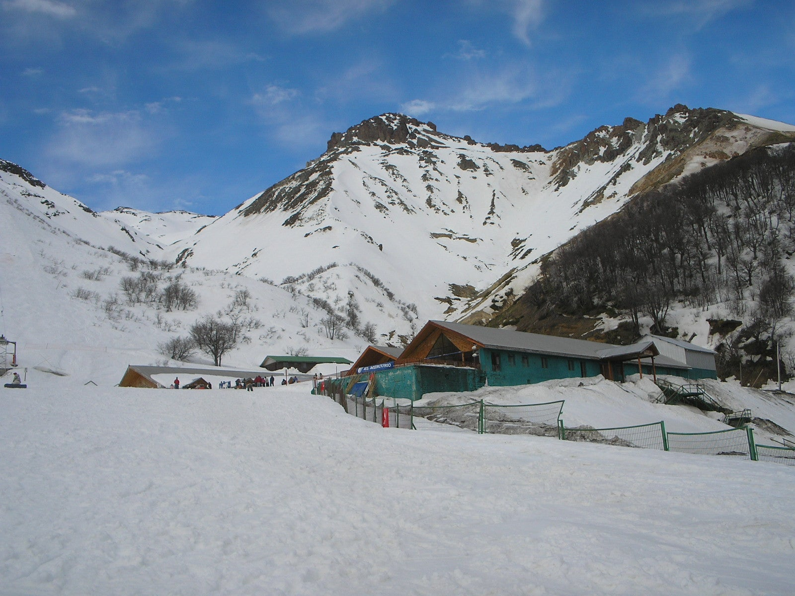 Resort en Nevados de Chillan